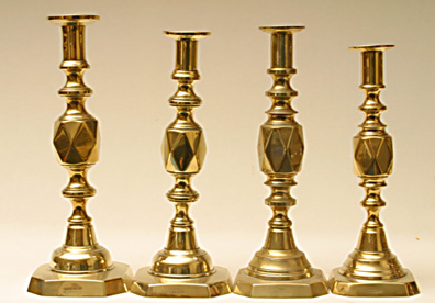 diamond candlesticks